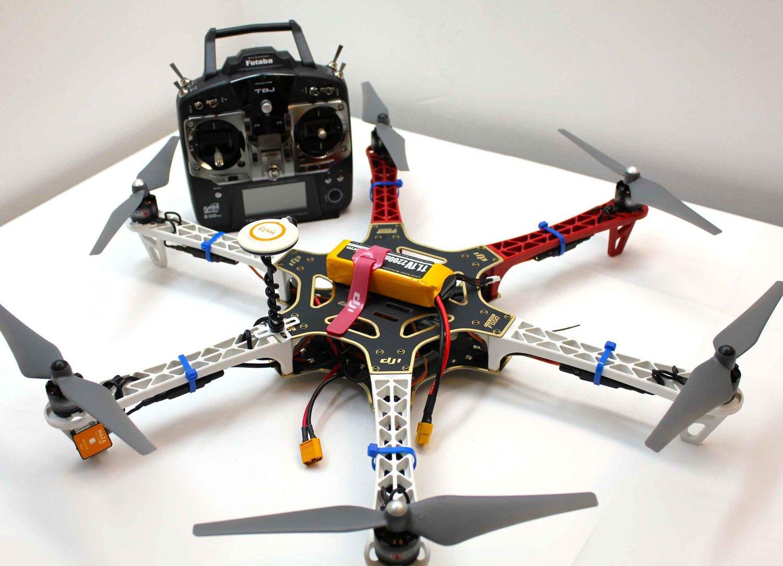 Квадрокоптер своими руками с пультом 54